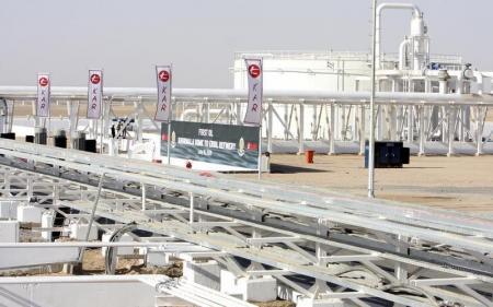 حقل خورمالة النفطي في اربيل بكردستان العراق - صورة من أرشيف رويترز.