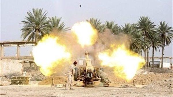 """الحشد الشعبي: مقتل مسؤولي الاعدامات و""""بيت المال"""" بداعش بقصف مدفعي غربي الموصل"""