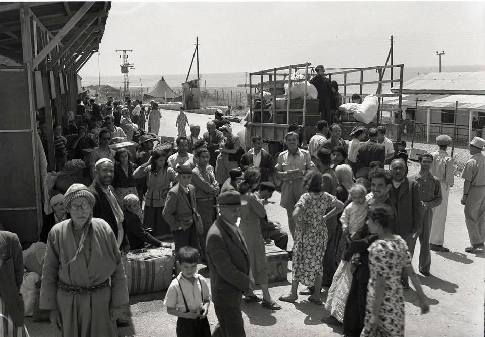 وصول اليهود العراقيين اسرائيل ١٩٥١