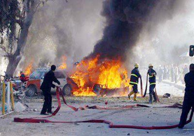 اربعة مدنيين بانفجار مفخخة في بغداد