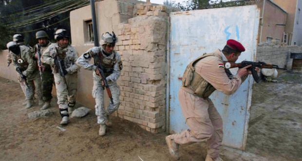 العراقية تواصل التقدم ضد داعش وتدخل حقول الألغام