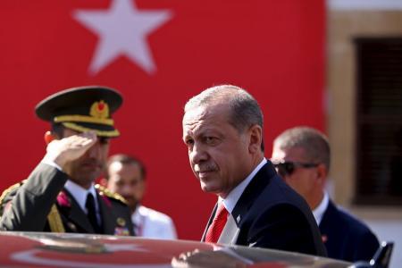 الرئيس التركي رجب طيب اردوغان. تصوير رويترز