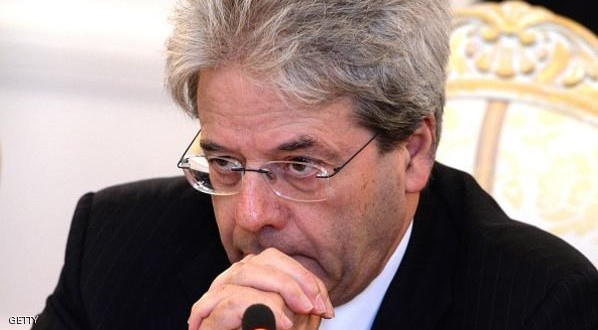 Italian Foreign Minister Paolo Gentiloni speaks during a meeting with his Russian counterpart Sergei Lavrov (Unseen) in Moscow on June 1, 2015.  AFP PHOTO / VASILY MAXIMOV        (Photo credit should read VASILY MAXIMOV/AFP/Getty Images)