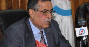 وزير الكهرباء المه ندس قاسم الفهداوي