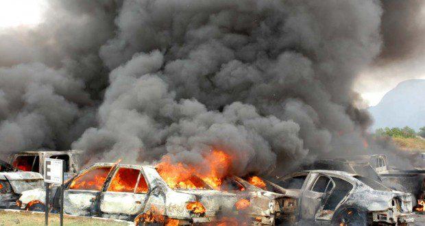 استشهاد واصابة 75 شخصاً بانفجار سيارة ببغداد