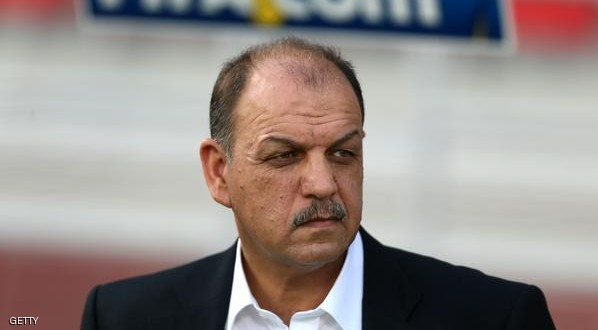 Jordan's coach Adnan Hamad attends his team's 2014 World Cup Asian zone group B qualifying football match against Iraq in Doha on November 14 , 2012. Iraq won 1-0. AFP PHOTO/AL-WATAN DOHA/KARIM JAAFAR==QATAR OUT==(Photo credit should read KARIM JAAFAR/AFP/Getty Images)