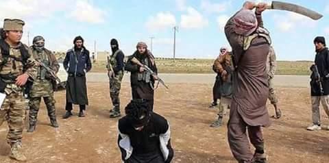 داعش تعدم احد شيوخ عشيرة الجبور الزبيدية في الموصل الشيخ (ريان العبد ربه)