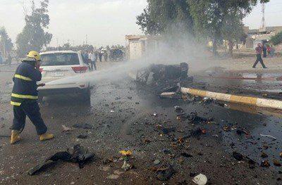 13 جريحاً بانفجار سيارة مفخخة شرق بعقوبة