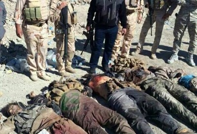 طيران الجيش العراقي تمكن، اليوم، من رصد وقصف وكرين لداعش في منطقة الزوية التابعة لمدينة الكرمة.