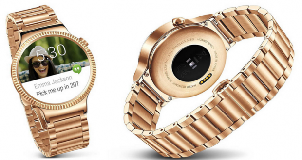 """ساعة ذكية راقية مطلية بالذهب من """"هواوي"""" الصينية بسعر 800 دولار"""