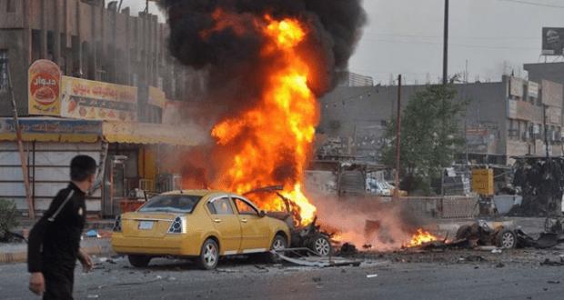 مقتل واصابة 35 شخصا في تفجير ببغداد
