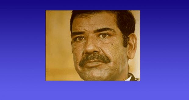 """العراق يعلن وفاة """"وطبان"""" الأخ غير الشقيق لصدام"""