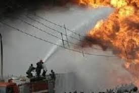 اندلاع حريق في سوق الصدرية وسط بغداد