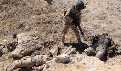 """مقتل ثلاثة امراء دواعش في الكرمة """" ابو ايات وابو تبارك والحلبوسي """""""