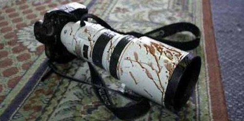 مسلحون مجهولون يهاجمون موكبا يقل صحفيين في ناحية البغدادي