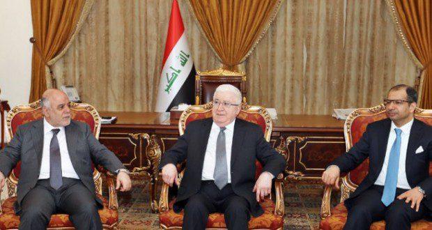 معصوم والعبادي والجبوري يتفقون على تشكيل لجنة تحضيرية لبدء مشروع المصالحة