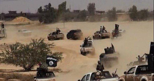مقاتلون عشائريون يتصدون لعناصر داعش الهاربة من بيجي