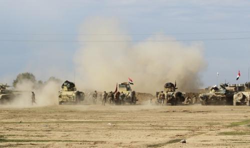 القوات المشتركة تقترب من مقر عمليات الأنبار