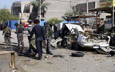 شهداء وجرحى بتفجيرات استهدفت مدنيين ببغداد