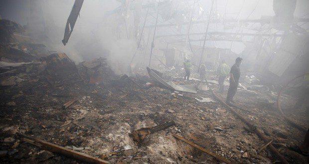 مقتل شخصا 12 وإصابة 71 في حريق شمال إندونيسيا