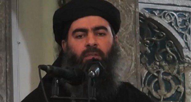 قصف موكب ابو بكر البغدادي