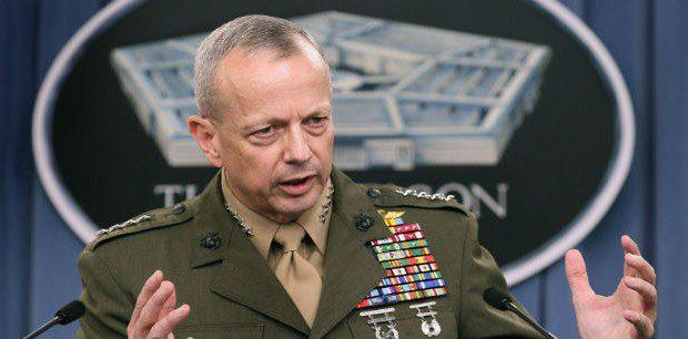 جنرال امريكي يتوقع استعادة الرمادي قريبا