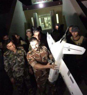 """اسقاط طائرة مسيرة لـ""""داعش"""" شرق الرمادي"""