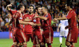 إسبانيا إلى نهائيات كأس أوروبا