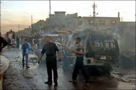 اصابة 5 مدنيين بانفجار عبوة ناسفة بمنطقة النهضة وسط بغداد