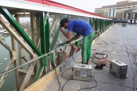 مجلس البصرة يقرض وزارة الاعمار ثلاثة مليارات دينار لإكمال ترميم جسر