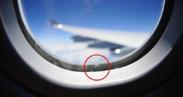هل تعلم ما هي وظيفة الثقوب في نوافذ الطائرات ؟