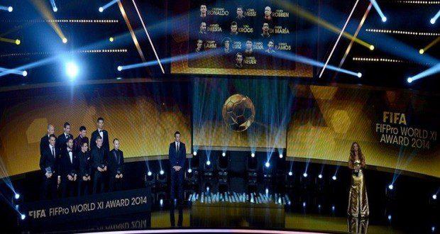 55 لاعبا مرشحا لجائزة FIFA FIFPro World XI 2015