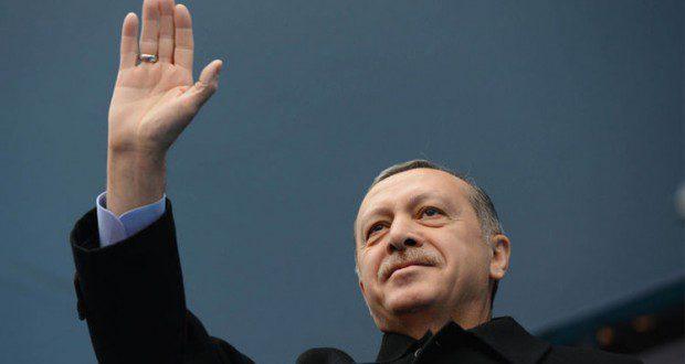 أردوغان في قران سري