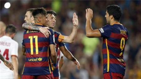 """الصحف الاسبانية تشيد بـ """"برشلونة والثلاثي المرعب """""""
