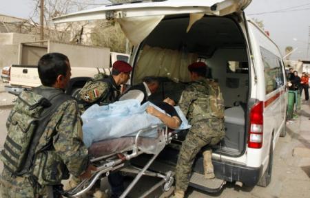 إصابة ضابطين في الأمن الوطني بنيران مسلحين في البصرة
