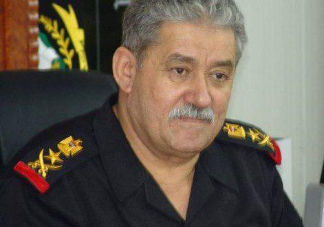 الفريق الركن عبد الغني الاسدي قائد مكافحة الارهاب
