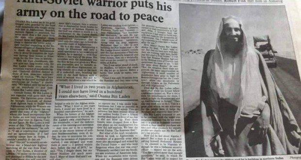 عام 1993 صحيفة الاندبندت تمدح ببن لادن وتعتبره من المحررين