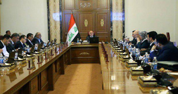 مجلس الوزراء يعقد جلسته الاعتيادية برئاسة رئيس مجلس الوزراء الدكتور حيدر العبادي.