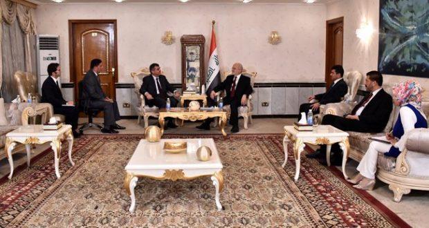 إبراهيم الجعفري :يطلب من تركيا اعادة فتح قنصليتها في محافظة البصرة
