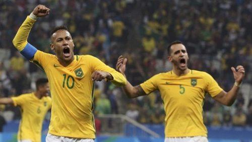 الاولمبي البرازيلي كرة قدم الى المربع الذهبي ريو 2016م