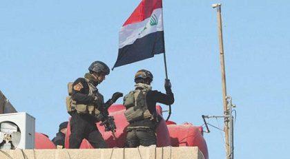 تحرير دور مصفى القيارة من داعش