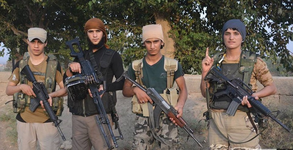 """صورة : الانغماسيون الارهابيين الذين فجروا في """"عين التمر """"كربلاء"""