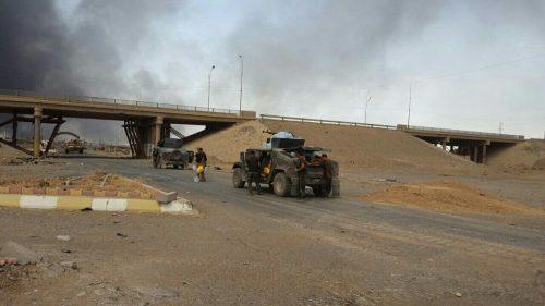 """""""بالصور """" دخول القوات العراقية في القيارة جنوب الموصل"""