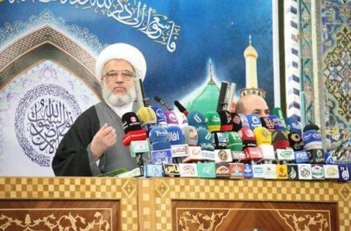 """ممثل السيستاني: إعلان المسؤولين مكافحة الفساد """"دعوات فارغة"""""""