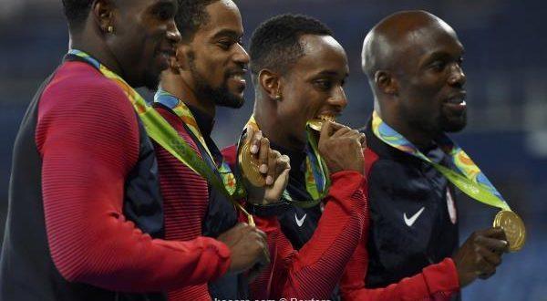116 ميدالية تمنح الولايات المتحدة عرش أولمبياد ريو