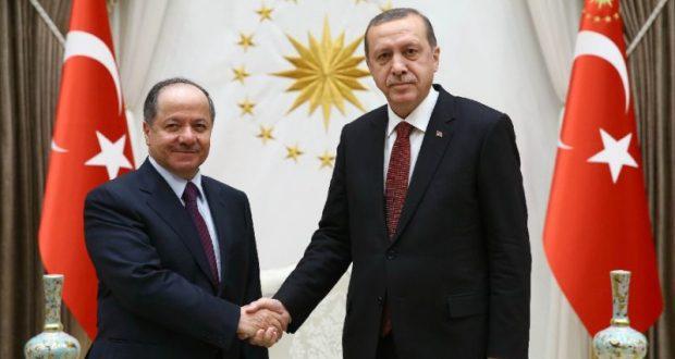 برزاني-اردوغان