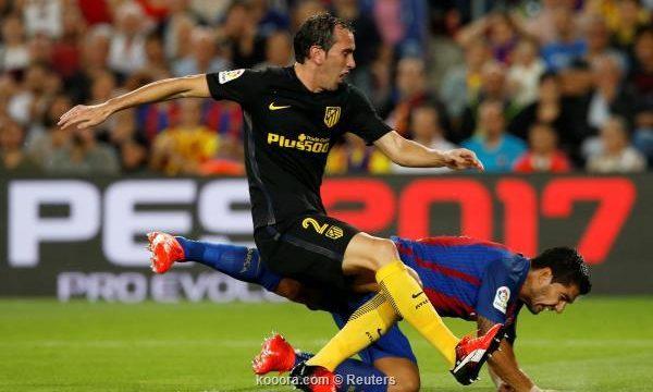 أتلتيكو مدريد ينتزع نقطة ثمينة بتعادله مع مضيفه برشلونة (1-1)