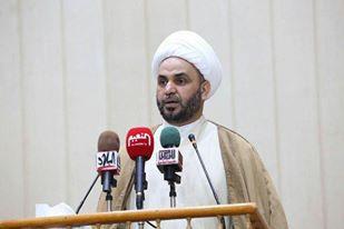 """خطيب جمعة بغداد يحذر من """"الخيانة المجتمعية"""" وينتقد قانون العفو العام والعتبة الانتخابية"""