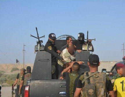 القوات الامنية تلقي القبض على 24 شخصا متورطين بنزاع عشائري في ميسان