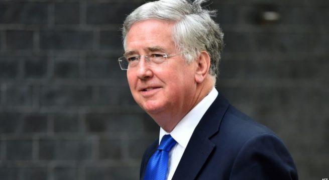 """وزير الدفاع البريطاني """"مايكل فالون """"يصل اربيل"""